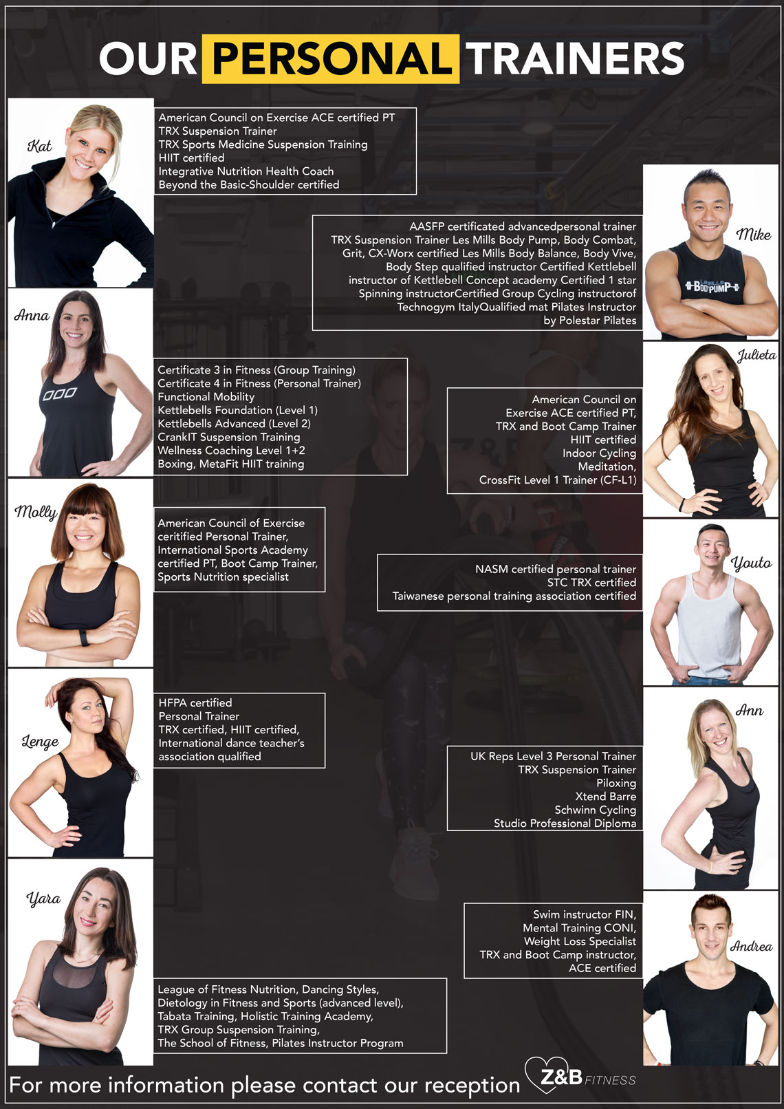Z&B Personal Trainers